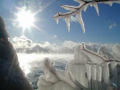 Burlington, Vermont winter -
