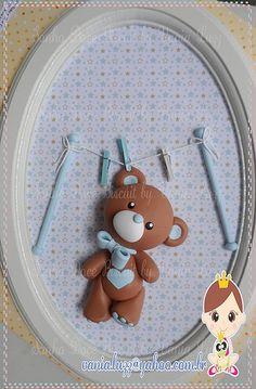 Porta Maternidade Ursinho