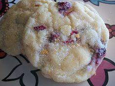 cranberry orange soft cookies