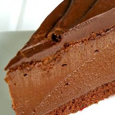 A Chocoholics dream cheesecake. Seriously Chocolate Cheesecake Recipe from Grandmothers Kitchen.