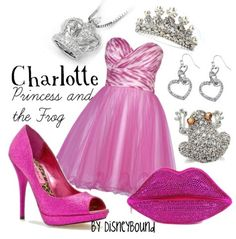 Charlotte from Princess and the Frog(: