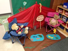 Great Camp High Five display for a classroom! (Highcroft Drive Elementary in Cary, NC)