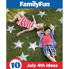 Check out FamilyFun magazine's free July 4th booklet, full of fabulous holiday crafts, treats, and decor, including these spectacular flour stars.