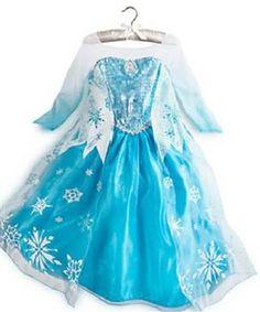 Disney Frozen party: Elsa dress