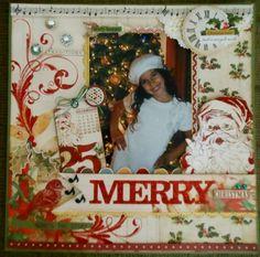vintage christmas, vintag christma, scrapbook christma, christma scrapbook, merri christma, christma collect