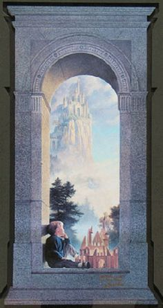 Greg Olsen- want this in my kids room
