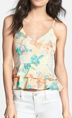 sweet ruffle camisole  http://rstyle.me/n/i6uw9pdpe