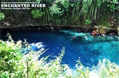 Enchanted River in Hinatuan, Surigao | Backpacking Philippines