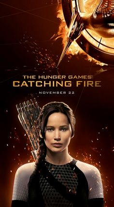 Katniss, the Girl on Fire. #CatchingFire #HungerGames