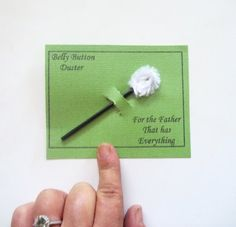 Card for  Dad Boyfriend Uncle Father For Son Anyone Father's Day Mother's Day Any Occasion Belly Button, Humor,  kids him
