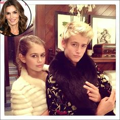 Cindy Crawford Shares Adorable Picture of Her Two Mini-Me Kids