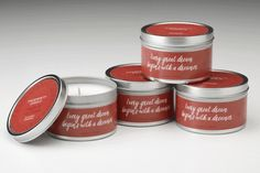 Citronella Quote Tin