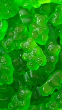 Green Gummy Bears
