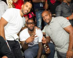 Lebron James celebrates NBA Championship at TAO Las Vegas