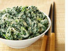Chef Morimoto's Mashed Tofu Salad (Shira-ae) from Food Network Magazine #Protein #Veggies #MyPlate