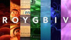 ROYGBIV: A Pixar Supercut on Vimeo