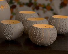 Coral tealights