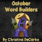 Included in this freebie pack are 5 word building printables with an October/Halloween theme. Students cut out the letters to create words. They mu...