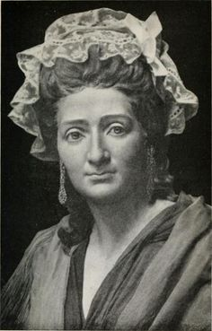 Madame Tussaud at age 42. She is said to have helped the cult of celebrity with her waxworks of the famous at the time, and with the founding of her waxworks museum. Marie Tussaud made her first wax figure—Jean Jacques Rousseau—at the age of 17, and followed that with Voltaire and Benjamin Franklin. She was also employed during the French Revolution in the gruesome task of making death masks of the victims of the guillotine.