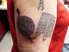 Hooked on Ink: 10 Cool Crochet Tattoos