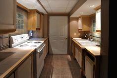 Nice flooring, sink & counter tops...