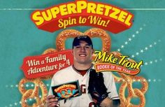 Superpretzel Spin to Win Instant WIN Game
