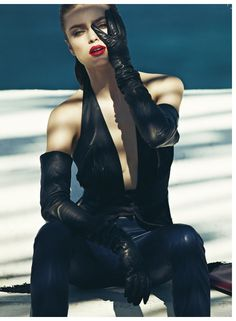 Sophie Vlaming Is a Sexy Vixen in Vogue Hellas August Cover Shoot by Dimitris Skoulos