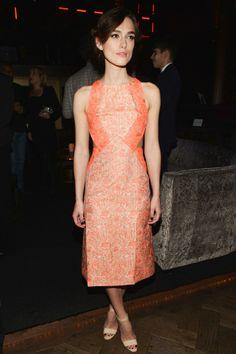 Kiera Knightley in Richard Nicoll at the after-party of the Anna Karenina LA premiere.
