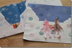 Snowy Day book activities ~ art, crafts and more