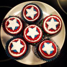 Captain America Cakes #Avengers