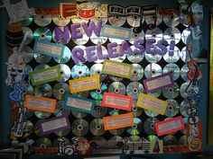 CD Bulletin Board for my rockstar classroom