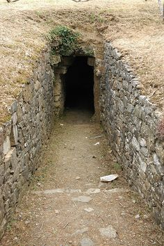 Etruscan tomb, Italy