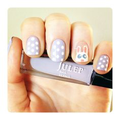 Julep's Fan Nail of the Day by Ashley
