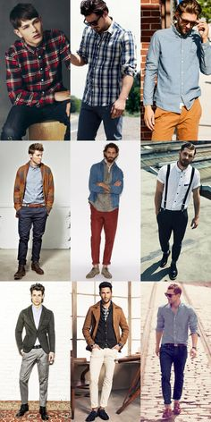 Yes, Guys, you CAN wear more than tees! Men's Casual Shirt Lookbook men's casual shirt, mens casual shirts