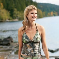Realtree Girl® Camo Tankini