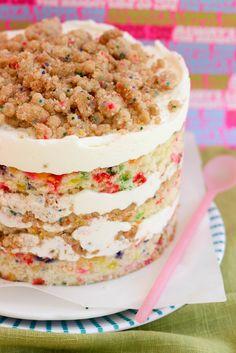 Milk Bar Mondays – Birthday Layer Cake @Krissy Winnick