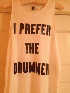 drummer, shirt