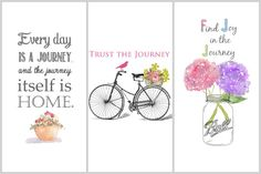 Free Inspirational Quote Printables from On Sutton Place