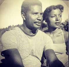 Classic photo of Ossie Davis and Ruby Dee