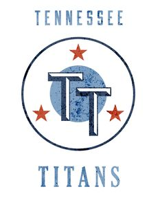 Tennessee Titans Gridiron League Logo by Wes Kull