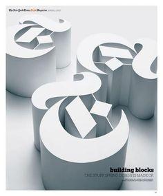 The New York Times Style Magazine - Building Blocks