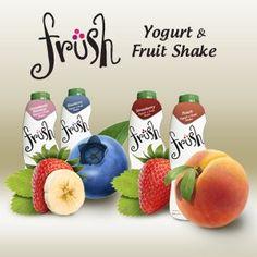 früsh fruit-and-yogurt drink. A rare three-dot umlaut.
