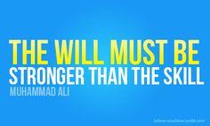 muhammad ali, weight loss secrets, quotes, fit motiv, skill, lose weight, stronger, inspir, fitness motivation