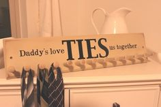 fathers day crafts, tutorials, famili, gift ideas, father day, ties, fathers day gifts, poppi, kid
