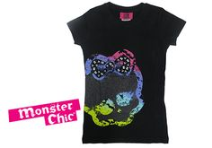 LOVE the Monster Chic Collection @ Target -- Monster High(TM) at Target - Girls short sleeve crew neck, $9.99