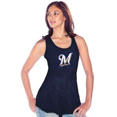 This week, it's gonna be hot, hot, hot! Keep cool with this #Brewers tank.