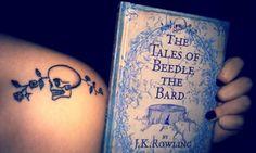 harri potter, books, numbers, unique harry potter tattoo, harry potter tattoos