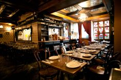 Looking for a cozy restaurant with homemade italian to take your Valentine? We love this spot on the Lower East Side- Sauce.