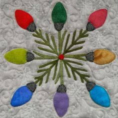 Jane Zillmer: A Few of my Favorite Things : Christmas Lights block.