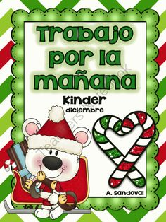 December Morning Work in Spanish from Angelica Sandoval on TeachersNotebook.com (20 pages)  - This kindergarten morning work includes 20 pages of BASIC SKILLS such as: 1. Addition and subtraction up to 10  2. Word Problems/addition 3. Identifying initial syllables and making words 4. Writing basic pattern sentences. 5. Writing 2 sentence-narrative